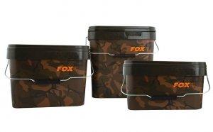 Wiadro 10l FOX Camo Square Buckets