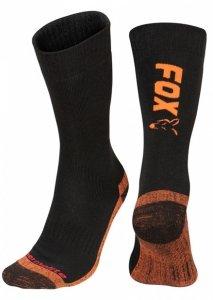 Fox Collection Socks Black/Orange 40-43 CFW116