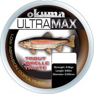 ŻYŁKA Okuma Ultramax 2oz Trout 4,9kg/0.22mm 1155m