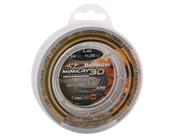 48460 BULLDOZER MIMICRY WATER GHOST XP 0,50 mm 32lbs