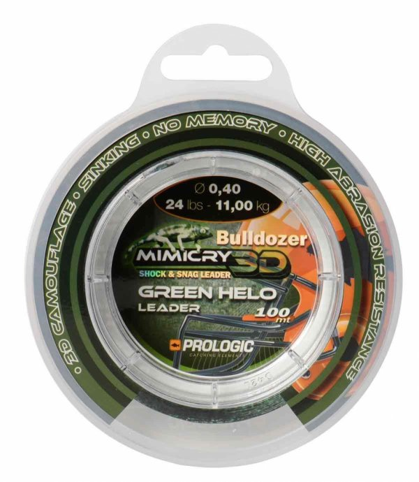 STRZAŁÓWKA MIMICRY GREEN HELO PROLOGIC 0,40 mm 24lbs  57090