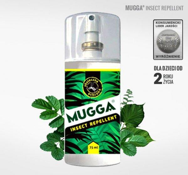 Mugga Spray 9,5% DEET 75ml