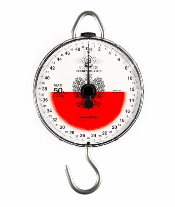 WAGA Reuben Heaton Poland Scale 50 kg Limited Edition