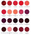 gelish kolory czerwony