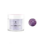 Puder do manicure tytanowy 20g - KABOS Dip 16 Purple Sparkles