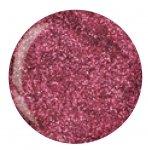 Puder do manicure tytanowy - Cuccio DIP - Deep Pink Pink Glitter 14G (5610)