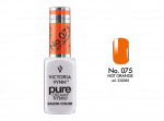 075 Hot Orange - kremowy lakier hybrydowy Victoria Vynn PURE (8ml)
