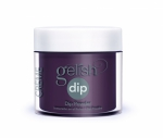 Puder do manicure tytanowy - GELISH DIP - Black Cherry Berry 23 g (1610867)