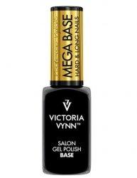 MEGA Baza Clear pod lakier hybrydowy (hard,hardi,base) do utwardzenia lub przedłużenia Victoria Vynn