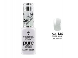 NOWOŚĆ lakier hybrydowy Silver Blink 8 ml (146) VICTORIA VYNN PURE