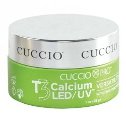 Żel budujący do paznokci -  28 g - Cuccio Calcium Gel T3 LED/UV ( z wapnem)