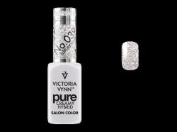 039 Luxury Silver - kremowy lakier hybrydowy Victoria Vynn PURE (8ml)