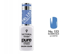 NOWOŚĆ lakier hybrydowy BlueBird Blue 8 ml (153) VICTORIA VYNN PURE