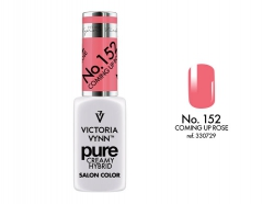 NOWOŚĆ lakier hybrydowy Coming Up Rose 8 ml (152) VICTORIA VYNN PURE