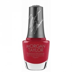 Lakier do paznokci Morgan Taylor 15ml  - CLASSIC RED LIPS  (3110358)