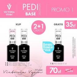 PROMO 2X PEDI BASE + PEDI BASE GRATIS VICTORIA VYNN