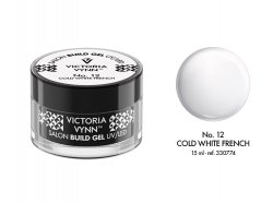 No.12  żel budujący 15ml Victoria Vynn Cold White French