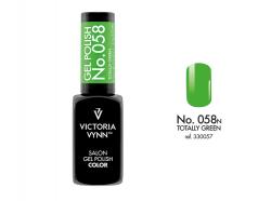 058 Totally Green Lakier Hybrydowy Victoria Vynn Gel Polish
