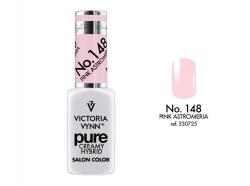 NOWOŚĆ lakier hybrydowy Pink Astromeria 8 ml (148) VICTORIA VYNN PURE