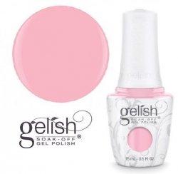 Lakier hybrydowy GELISH kolor: Pink Smoothie 15 ml (1110857) - kremowy