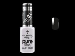 036 Jet Black Victoria Vynn - kremowy lakier hybrydowy Victoria Vynn PURE (8ml)