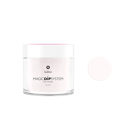 Puder do manicure tytanowy 20g - KABOS Dip 05 Light Pink French