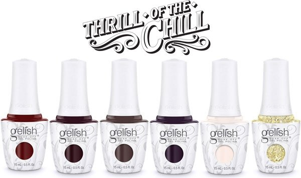GELISH Let's Kiss and Warm Up (1110281) Thrill Of The Chill - lakier hybrydowy 15ml