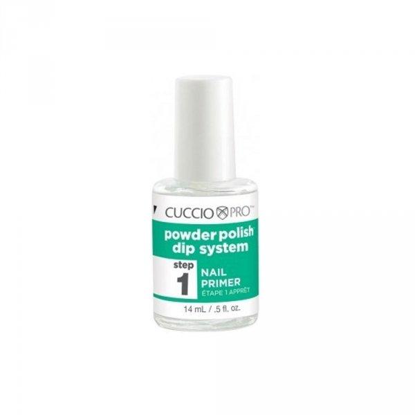 Manicure tytanowy krok 1 - Cuccio DIP - odtłuszczacz 14 ml