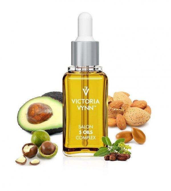 Oliwka odżywcza do skórek i paznokci Victoria Vynn 30ml - 96% składników olejki naturalne