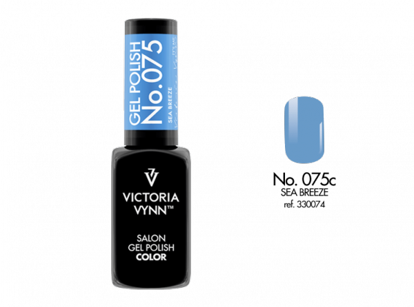 075 Sea Breeze Lakier Hybrydowy Victoria Vynn Gel Polish