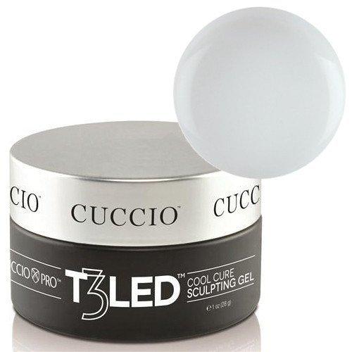 Samopoziomujący żel do budowania paznokcia - biały 28 g CUCCIO PRO T3 LED/UV