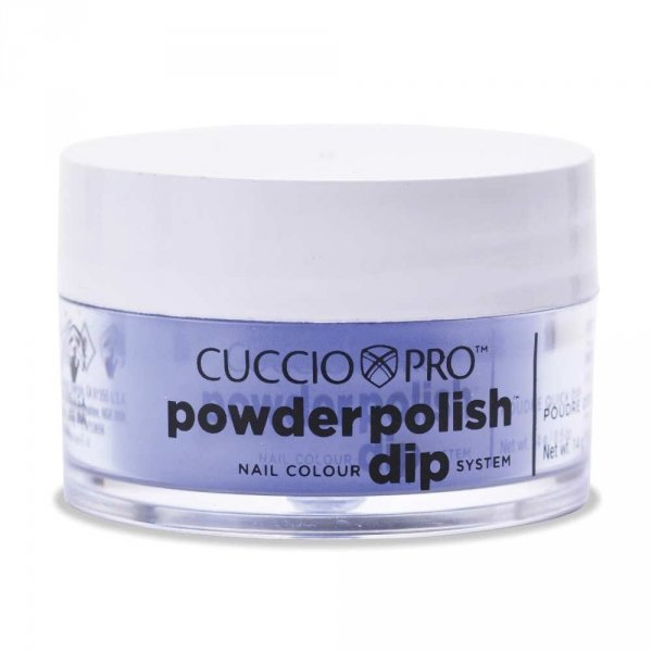 Cuccio manicure tytanowy - 5578 DIP SYSTEM PUDER Electric Blue 15 G