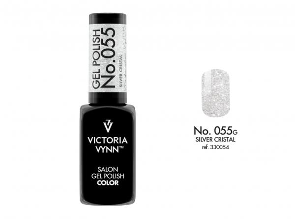 055 Silver Crystal Lakier Hybrydowy Victoria Vynn Gel Polish