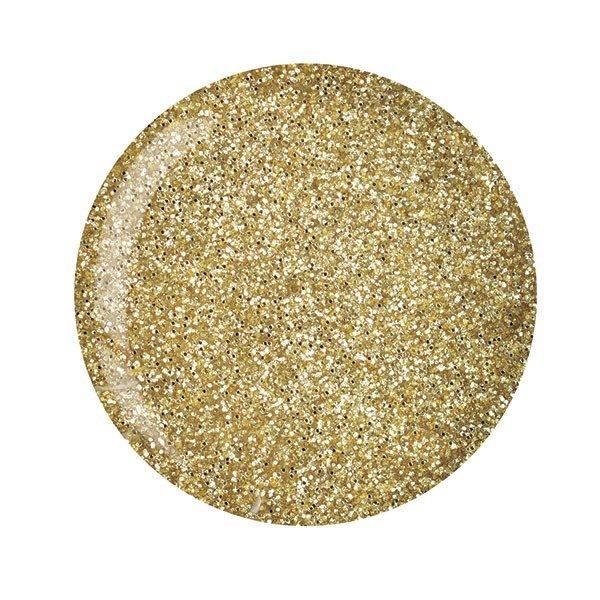 Cuccio manicure tytanowy -5558 DIP SYSTEM PUDER Rich Gold Glitterr 15 G