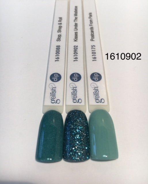 Puder do manicure tytanowego Kisses Under The Mistletoe DIP 23g GELISH (1610902)