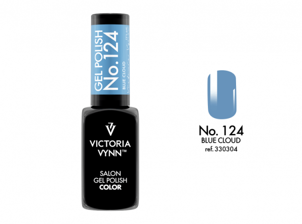 124 Blue Cloud Lakier Hybrydowy Victoria Vynn Gel Polish