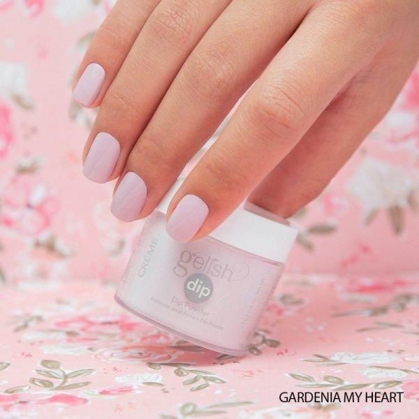 Puder do manicure tytanowego - GELISH DIP - Gardenia My Heart 23g (1610341)