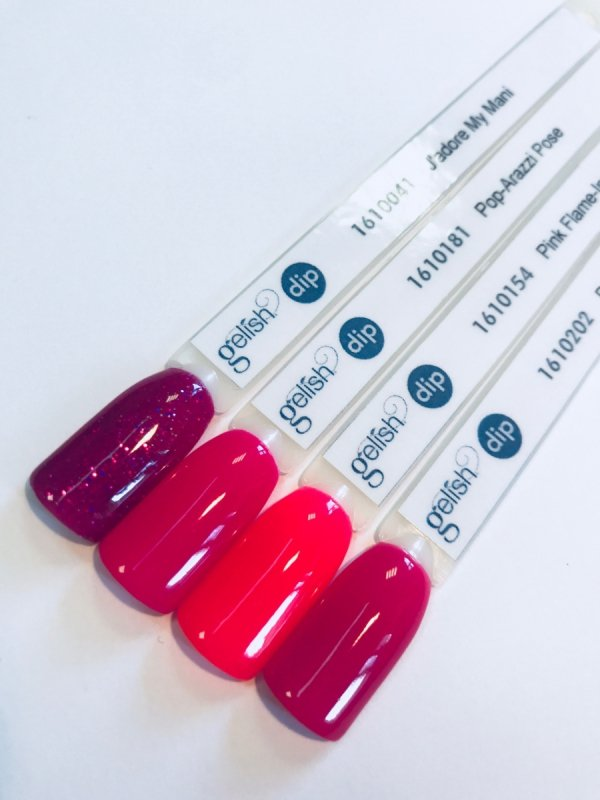 Puder do manicure tytanowy - GELISH DIP - Pop-arazzi Pose 23 g - (1610181)