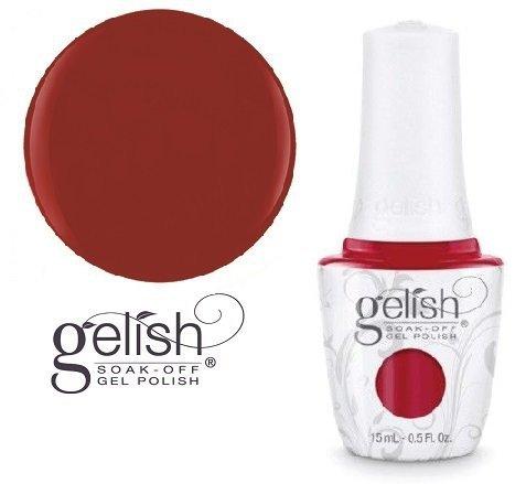 Lakier hybrydowy kolor: Red Roses 15 ml (1110829) - kremowy Gelish