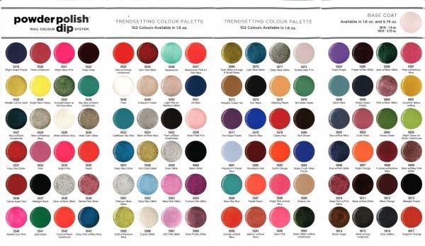 puder do manicure tytanowy - CUCCIO DIP - Fuchsia Pink Glitter 14G (5564)