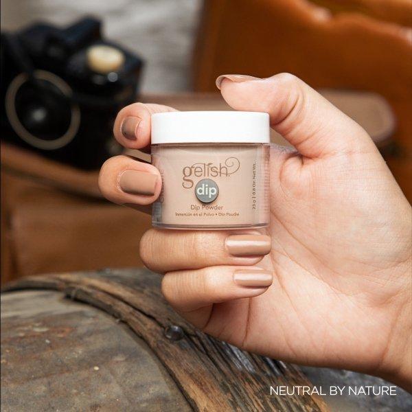 Puder do manicure tytanowego - GELISH DIP - Neutral By Nature 23g (1610319)