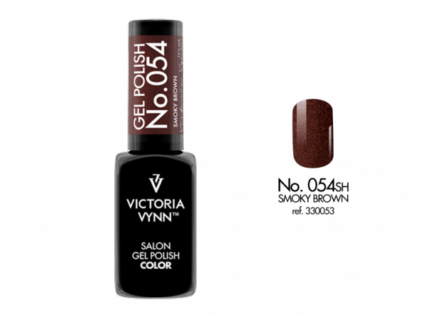 054 CSH Smoky Brown Lakier Hybrydowy Victoria Vynn Gel Polish