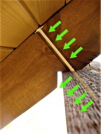 Wkręty ciesielskie 8x320 mm talerzowe - 50 szt