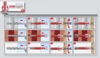 Kołek rozporowy duopower 10x80 - 25 szt (538242)