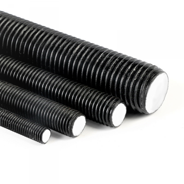 Pręt M30x1000 gwintowany, czarny kl.10.9 DIN 976