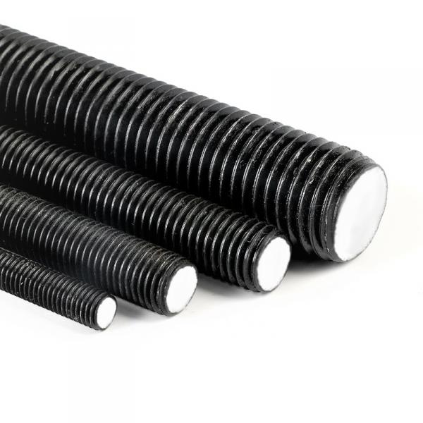 Pręt M12x1000 gwintowany, czarny kl.10.9 DIN 976