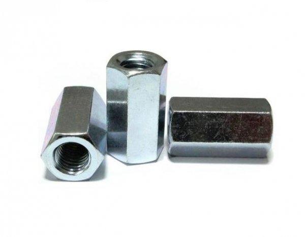 Nakrętka M5x15 złączna ocynk DIN 6334