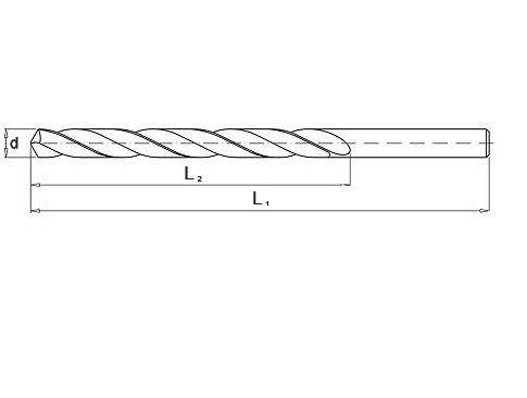 Wiertło do metalu 3,8 mm NWKa HHS BAILDON