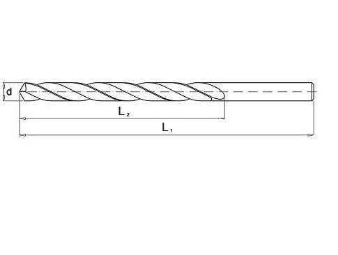 Wiertło do metalu 11,0 mm NWKa HHS BAILDON