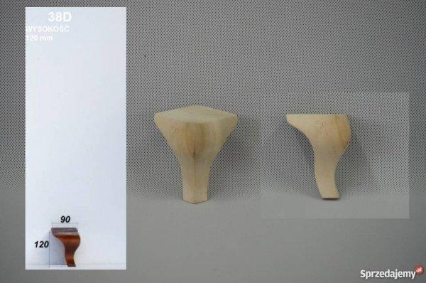 Noga drewniana do mebli 38D